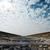 railway to horizon under cloudy sky stock photo © mycola