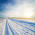 rural road under snow stock photo © mycola