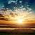 fantasztikus · naplemente · felhők · nap · absztrakt · tájkép - stock fotó © mycola