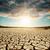 seca · terra · dramático · céu · textura · sol - foto stock © mycola