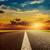 estrada · dramático · pôr · do · sol · céu · sol · abstrato - foto stock © mycola