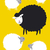 preto · ovelha · conceitos - foto stock © myimagine