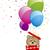 tenha · caixa · de · presente · projeto · dom · cartão · balão - foto stock © myimagine