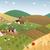 summer farmer landscape stock photo © myosotisrock