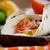 tortilla · frango · carne · legumes · cogumelo · refeição - foto stock © mythja