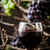 fresco · uvas · vinho · tinto · madeira · outono · fruto - foto stock © mythja