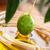 自家製 · オリーブオイル · 手 · オリーブ · 葉 - ストックフォト © mythja