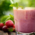 cerise · lait · smoothie · menthe · isolé · blanche - photo stock © mythja