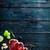 bruschetta · ham · basilicum · brood · koken - stockfoto © mythja