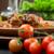 gotowania · mięsa · makaronu · pan · piłka - zdjęcia stock © mythja