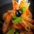 domates · sosu · fesleğen · gıda · makarna · çatal · domates - stok fotoğraf © mythja