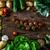 野菜 · 木材 · バイオ · 健康食品 · ハーブ · スパイス - ストックフォト © mythja