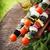 гриль · пепперони · помидоров · красный · зеленый · продовольствие - Сток-фото © mythja