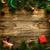 Crăciun · proiect · craciun · coroana · vesel · frontieră - imagine de stoc © mythja