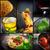 pasta collage stock photo © mythja