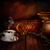 chicchi · di · caffè · bag · tavolo · in · legno · caffè · natura - foto d'archivio © mythja