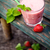 strawberry fruit drink stock photo © mythja