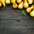 peras · madeira · luz · fruto · verde · prato - foto stock © mythja