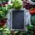 blackboard with vegetables stock photo © mythja