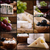 cheese and wine collage stock photo © mythja