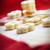 vaj · sütik · karácsony · harisnya · étel · háttér - stock fotó © mythja