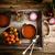 crema · di · pomodoro · fatto · in · casa · pomodori · erbe · spezie · comfort - foto d'archivio © mythja