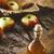 apple vinegar on wood stock photo © mythja