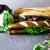 szendvics · zöldségek · gyorsételek · étel · háttér · klub - stock fotó © mythja