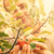 фермер · яблоки · органический · фрукты · Фермеры · рук - Сток-фото © mythja