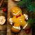 mézeskalács · ember · süti · sütik · izolált · fehér · szeretet - stock fotó © mythja