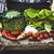 фермер · салата · органический · овощей · Фермеры · рук - Сток-фото © mythja