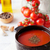 tomatensoep · kom · tomaten · basilicum · selectieve · aandacht · voedsel - stockfoto © mythja