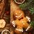 ingericht · cookies · feestelijk · Rood · goud · eten - stockfoto © mythja
