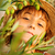 girl in olive farm stock photo © mythja