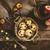 eigengemaakt · appel · chips · noten · specerijen · rustiek - stockfoto © mythja