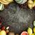 friss · görögdinnye · fa · asztal · érett · szeletel · fehér - stock fotó © mythja