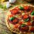 taze · pizza · ahşap · İtalyan · peynir · salam - stok fotoğraf © mythja