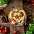 macarrão · sopa · de · tomate · cozinha · italiana · azeite · alho · manjericão - foto stock © mythja
