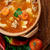 遅く · 料理 · 辛い · スープ · クローズアップ · 黒 - ストックフォト © mythja