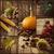 フルーツ · 樫の木 · 秋 · 木材 - ストックフォト © mythja