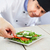 повар · соус · блюдо · спагетти · коммерческих · кухне - Сток-фото © mythja