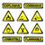 gevaar · industrie · iconen · brand · ontwerp · explosie - stockfoto © Myvector