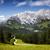 hochkoenig mountain range stock photo © nailiaschwarz