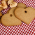 ブラウン · 白パン · 心 · スライス - ストックフォト © nailiaschwarz