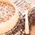 meyve · pirinç · ahşap · çanak · stok · fotoğraf - stok fotoğraf © nalinratphi