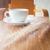 fotoğraf · fincan · kahve · masa · örtüsü · harika · ahşap - stok fotoğraf © nalinratphi