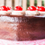 home made chocolate cake topped with cherry stock photo © nalinratphi