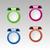 set of colorful metalic clip stock photo © nalinratphi