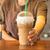 café · beber · crema · batida · chocolate - foto stock © nalinratphi
