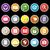 aplicação · ícones · longo · sombra · conjunto · estoque - foto stock © nalinratphi